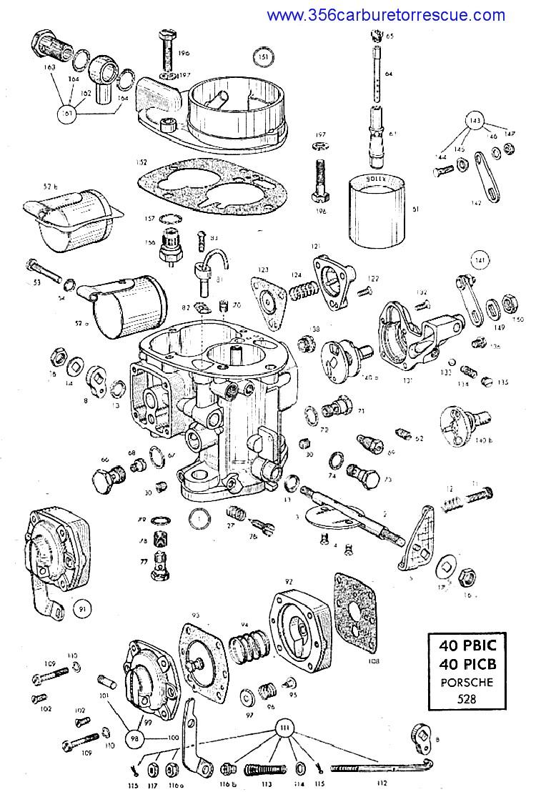 thesamba com view topic carburetors for a 1956 1600n rh thesamba com Solex Contracting Solex Glass